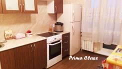 1-комнатная, улица Карбышева 22а. БАМ, агентство, 42 кв.м. Кухня