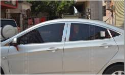 Накладка на стойку. Hyundai Solaris. Под заказ
