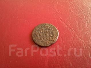 Анна Иоанновна. Полушка (четверть коп. ) 1735 года. 281 год уже монете!