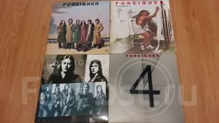 Foreigner- первые 4 альбома группы, LP пластинки виниловые JP