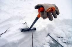 Очистка всей поверхности кровли от снега