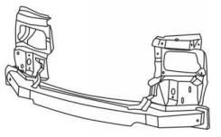Рамка радиатора. Volkswagen Transporter