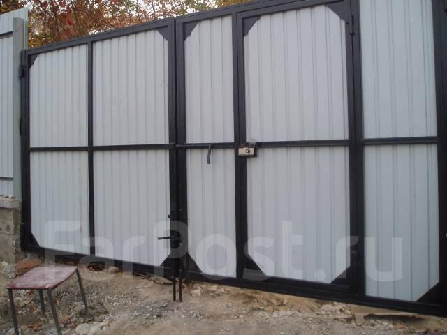 Ворота гаражные - от 22500 руб, двери стальные, решетки- прайс внутри!