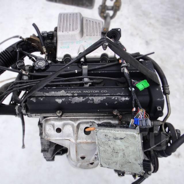 Контрактный б/у двигатель B20B на Honda CR-V 2.0