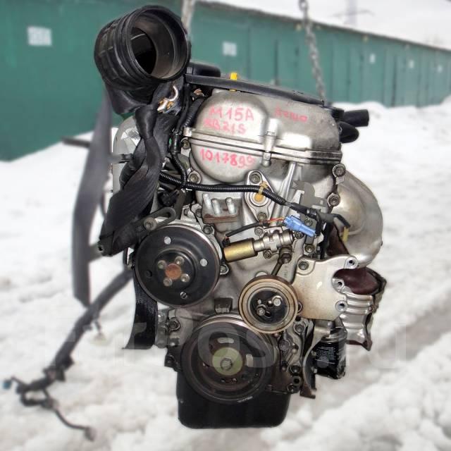 Контрактный б/у двигатель M15A на Suzuki SX-4