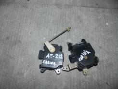 Сервопривод заслонок печки. Toyota Carina, AT212