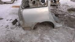 Задняя часть автомобиля. Toyota Wish, ZNE10 Двигатель 1ZZFE