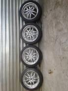 Комплект разношироких колёс 120х5 R17 piaa Michelin. 9.0x17 5x120.00 ET42