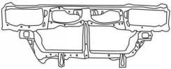 Рамка радиатора. Mitsubishi Galant