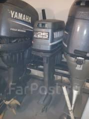 Yamaha. 25,00л.с., 2х тактный, бензин, нога L (508 мм), Год: 1997 год