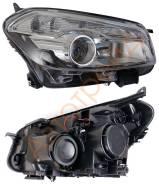 Фара. Nissan Dualis, J10 Nissan Qashqai, J10 Двигатели: MR20DE, HR16DE
