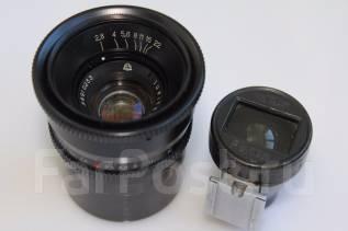 Объектив Юпитер-12 35 мм 1:2.8 с видоискателем в комплекте. Для Цифровых, диаметр фильтра 40.5 мм