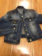 Куртки джинсовые. 40-44, 46, 48