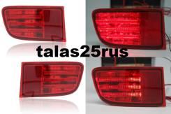 LED Фонари ( Доп. стопы ) в задний бампер Toyota Surf 215 ( Красные ). Toyota Hilux Surf, RZN210, KDN215, TRN215, TRN210, GRN215, TRN210W, GRN215W, RZ...