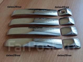 Накладка на ручки дверей. Lexus GX460 Toyota Land Cruiser Prado, GDJ150W, GRJ150L, GDJ151W, KDJ150L, GRJ150W, GRJ151W, TRJ150W