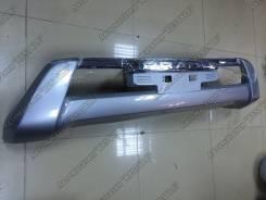 Накладка на бампер. Toyota Land Cruiser Prado, GDJ150L, GDJ150W, GDJ151W, GRJ150L, GRJ150W, GRJ151W, KDJ150L, TRJ150W
