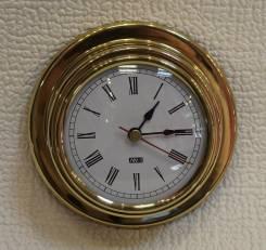 Часы (полиров. латунь) 95/70 мм