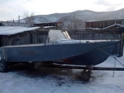 Казанка-2М. Год: 2009 год, длина 5,35м., двигатель подвесной, 40,00л.с., бензин