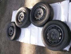 Комплект колес штампы Toyota 5*100 лето 185/65 R14. 6.0x14 5x100.00