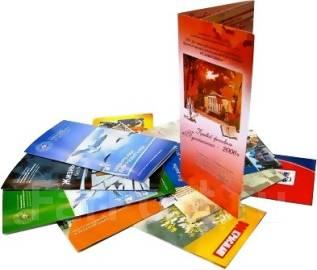 Тиражирование визиток, буклетов, стикеров, листовок