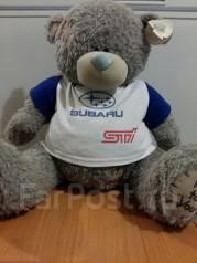 Медведь Мишка Teddy Subaru STI Субару. Отличный Подарок