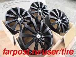 """Литые колесные диски monoART1 black R22 Мерседес GL ML, Audi Q7. 10.0x22"""", 5x112.00, ET60, ЦО 66,6мм."""