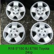 Toyota. 8.0x18, 5x150.00, ET60