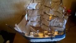 Корабли и лодки.