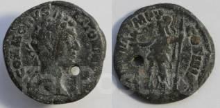 Античность! Римская Империя! 1 денар! Медь.