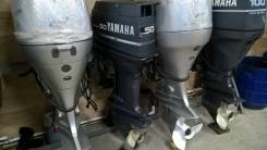 Yamaha. 50,00л.с., 2х тактный, бензин, нога L (508 мм)