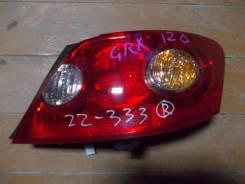 Стоп-сигнал. Toyota Mark X, GRX120