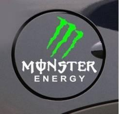 Наклейка Monster на бензобак. отправка по (Бесплатная доставка по РФ)