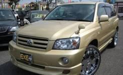 Обвес кузова аэродинамический. Toyota Kluger V Toyota Kluger