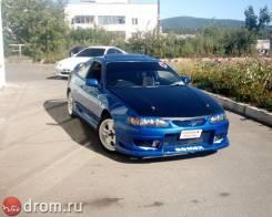 Обвес кузова аэродинамический. Toyota Corolla Levin, AE111