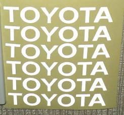 Наклейка. Toyota Cynos