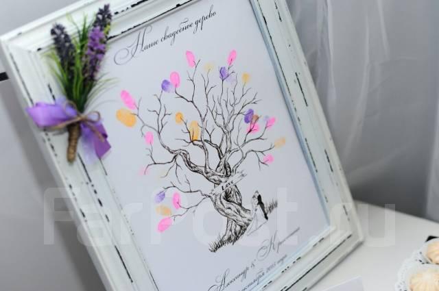 Свадебное дерево пожеланий.