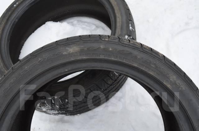 Dunlop SP Sport 5000M. Летние, 2011 год, износ: 5%, 2 шт