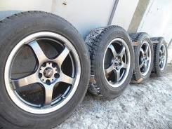 Hot Stuff Cross Speed Premium. 7.0x17, 5x114.30, ET38, ЦО 73,0 мм.