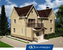 M-fresh Ideal-зеркальный (Дом с фронтонами понравится Вам! ). 200-300 кв. м., 2 этажа, 4 комнаты, бетон