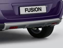 Накладка на бампер. Ford Fiesta Ford Fusion