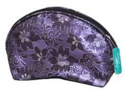 "Косметичка из ткани DW-11-05 ""№4"", 230x70x140 CB-2183-L violet, ZC"