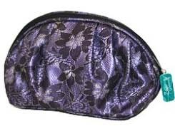 "Косметичка из ткани DW-11-05 ""№4 с складками"", 230x75x140 CB-2170-L violet, ZC"