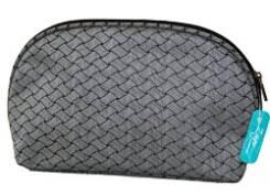 """Косметичка из ткани WZ-2068 """"№6"""", 210x60x135 CB-2160-J grey, ZC"""