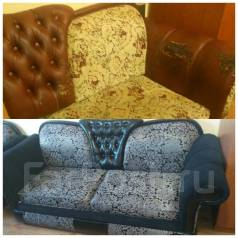 Перетяжка мебели. Под заказ