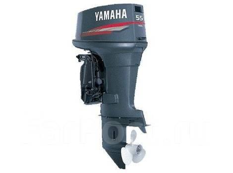 Yamaha. 55,00л.с., 2-тактный, бензиновый, нога S (381 мм), Год: 2017 год