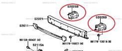 Кронштейн усилителя бампера. Toyota Land Cruiser Prado, TRJ125, RZJ120, LJ120, LJ125, KDJ125, GRJ120, TRJ120, GRJ121, KZJ120, GRJ125, VZJ125, KDJ121...