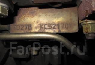 Двигатель в сборе. Nissan Mistral, R20 Двигатели: TD27B, TD27BETI, TD27T, TD27TI