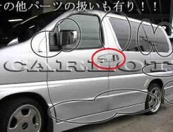 Накладка на ручки дверей. Nissan Elgrand, ATE50, APE50, AVWE50, AVE50, ALE50, ALWE50, APWE50, ATWE50. Под заказ
