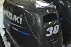 Suzuki. 30,00л.с., 2х тактный, бензин, нога S (381 мм), Год: 2015 год