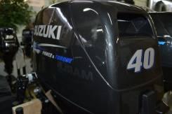Suzuki. 40,00л.с., 2х тактный, бензин, нога S (381 мм), Год: 2015 год
